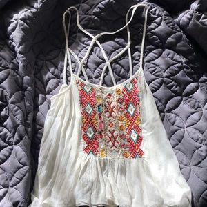 Anthropologie tank top size small